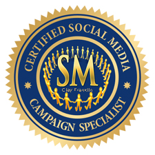 Clay Franklin Certified Social Media Marketing Campaign Specialist