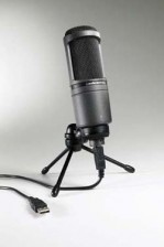 picture of AT 2020 USB microphone