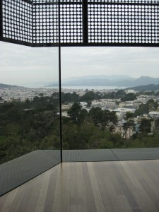 Window of Opportunity - overlooking San Francisco CA